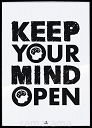 Grafika tekstowa №171 - KEEP YOUR MIND OPEN