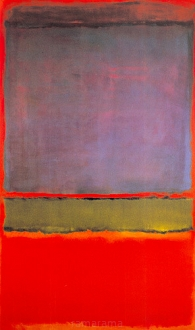 Violet Green and Red - Mark Rothko