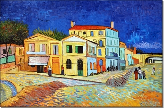 The Yellow House  - Vincent van Gogh