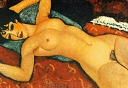 Sleeping Nude with Arms Open - Amadeo Modigliani