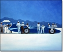 Blue bird - Jack Vettriano