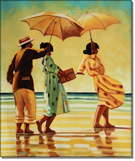 Picnic Party - Jack Vettriano