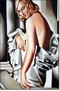 Portrait of Marjorie Ferry - Tamara Lempicka