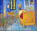Bedroom in Arles - Vincent van Gogh