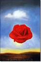 Rose Meditative - Salvador Dali